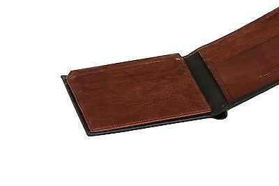 Wholesale Job Lot Of Luxury Mens 100% Real Leather Wallets Black & Brown