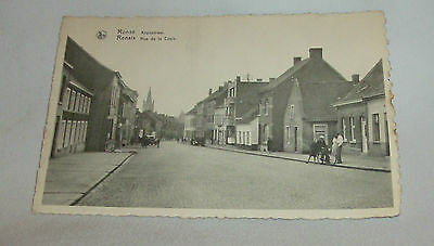 Vintage Ronse Renaix Post Card Sent From Crowthorn End To Edgeworth Police Stati