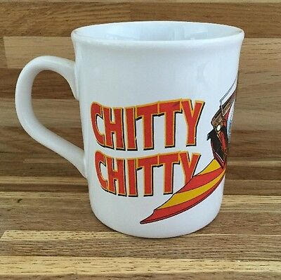 Chitty Chitty Bang Bang - Ceramic Mug - Flying Car - Vgc