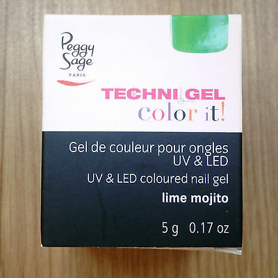 Peggy Sage TechniGel Color It ! gel UV & LED vert n°146935 Lime Mojito