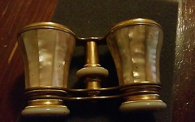 Chevalier Opticlen Mother of Pearl Opera Glasses