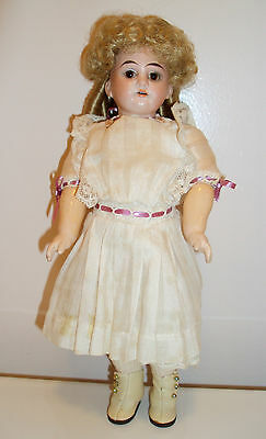Armand Marseille Antique Bisque and Composition Doll - Socket Head Fully Jointed