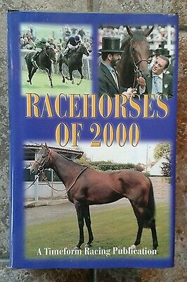 Timefirm Racehorses of 2000 Hardback Mint Condition