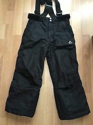 Boys Or Girls Dare 2B Black Snowboard Ski Trousers Salopettes Age 5-6 Years