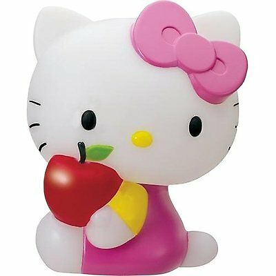 Hello Kitty LED Mood Lamp with 5 Light Colours Girls Bedroom Night Lamp