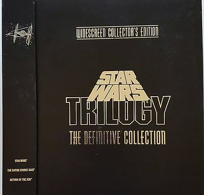 Star Wars Trilogy The Definitive Collection, Widescreen Collectors Edition Laser