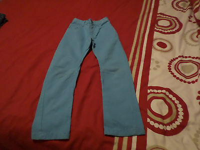 Boys Twisted Knee  Jeans 5-6 Yrs In Very Good Condition