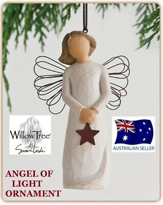 ANGEL OF LIGHT ORNAMENT Demdaco Willow Tree Figurine By Susan Lordi NEW IN BOX
