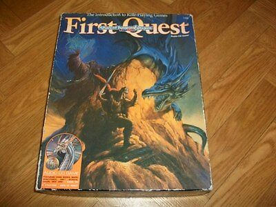 Dungeons and Dragons AD&D First Quest Boxed Set - TSR - Audio 100% Complete