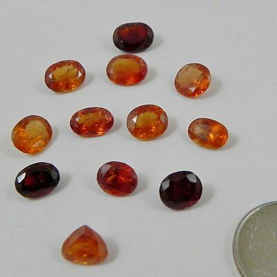 20 CTS orange spessartine garnet oval cut, Pakistan