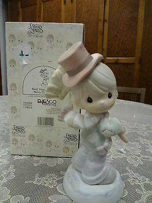 "Precious Moments ""Soot Yourself to a merry Christmas"" #150096 NIB"