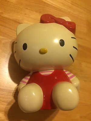 Vintage Collectable  Hello Kitty money Box / Plastic Figure