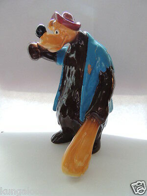 "Brer Bear ceramic figurine of ""Song of the South"" Walt Disney Productions Japan"