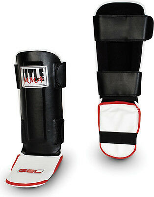 Title MMA Gel Pro Shin/Instep Guards-Large