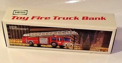 1986 Hess Red Fire Truck*Never Opened*Perfect
