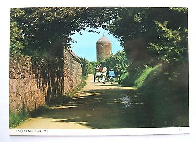 Postcard - CHANNEL ISLANDS - SARK - THE OLD MILL - Dennis S2 - (CHIS1-1)