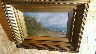 19th century oil painting by W Anderson