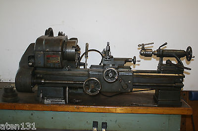"""Logan 1400 Metal Turning Lathe 9"""" Swing With Some Extras Southbend"""
