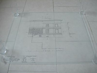 Vintage Architectural Scale Drawing Inventory And Documentation (11) 1980 Poland