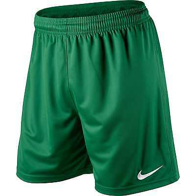 Shorts Football/ Soccer Nike Park Pine Green 4 Adult Sizes S-Xl