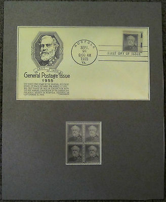 Civil War Confederate General Robert E. Lee First Day Cover & Stamps Custom Set