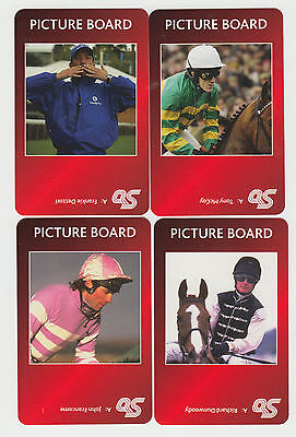 Horse Racing : Famous Jockeys : complete game card sub set