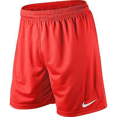 Shorts Football/ Soccer Nike Park Uni Red 5 Adult Sizes S-Xxl