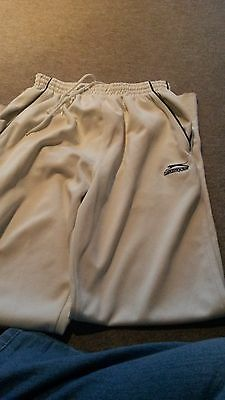 Cricket White trousers and vest Mens Size Small
