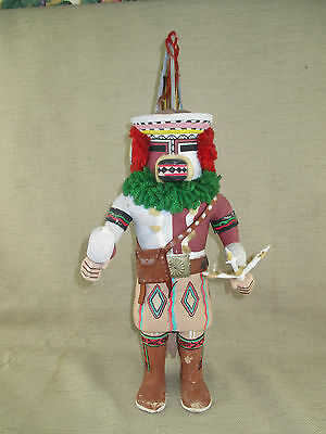 "Native American Hopi  Cat Kachina (Katsina) Doll 16.50"" Tall Unsigned"
