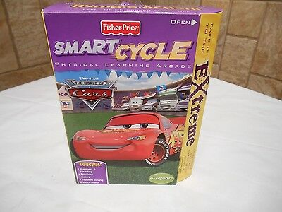 Fisher Price Smart Cycle Game (World of Cars)