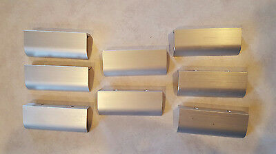 Set of Eight Contempary Rectangular Drawer Pulls