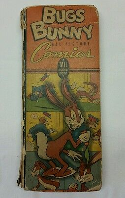 1943 Bugs Bunny All Pictures Comics by Leon Schlesinger ~ Tall Comic Book 530