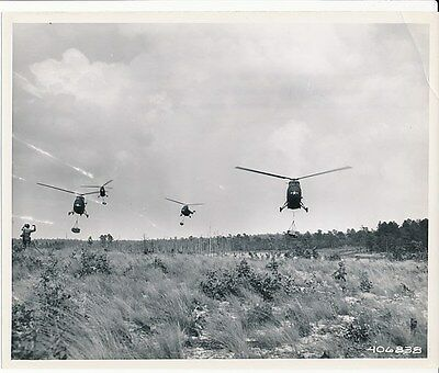 U.S. Army Sikorsky H-19 Chickasaw Helicopters
