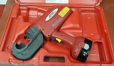 BURNDY PATRIOT PAT750XT-18V High Performance Hydraulic Crimper Battery Actuated