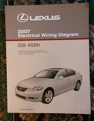 1999 lexus gs400 gs300 gs 400 electrical wiring diagram service 2007 lexus gs450h gs 450h electrical wiring diagram service repair manual oem