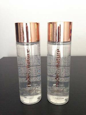 Nude By Nature Gentle Make Up Remover 120Ml X 2