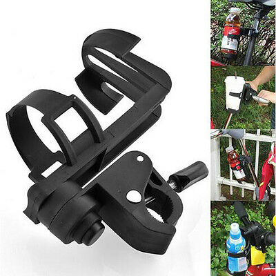 New Black Baby Stroller Bottles Rack Baby Water Cup Bicycle Bottle Holder