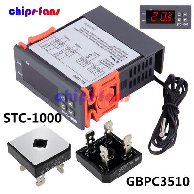 STC-1000 Temperature Controller Temp Sensor Thermostat Control Digital 110V-220V