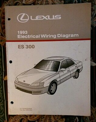 lexus electrical wiring diagram manual lexus image 2000 lexus rx300 rx 300 electrical wiring diagram service shop on lexus electrical wiring diagram manual