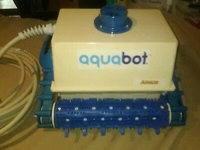 Aquabot Classic Junior Jr In-Ground Automatic Swimming Pool Robotic Cleaner N/R