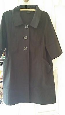 Cue Jacket Size 12, Black, good pre-loved condition