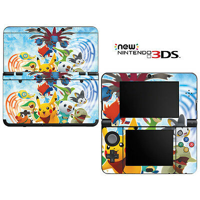Vinyl Skin Decal Cover for Nintendo New 3DS - Pokemon Mystery Dungeon Pikachu