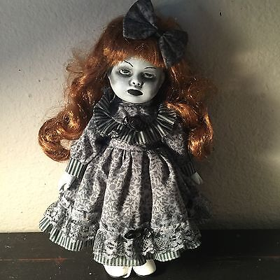 Nelly Ooak Gothic Goth Spooky Creepy Victorian Eerie Haunted Horror Doll