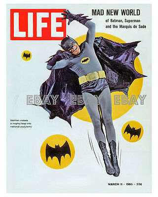 43 Batman Tv Photo Life Magazine Cover Adam West
