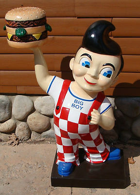 "40"" Big Boy 3D Mascot Statue  *gas oil  sign"