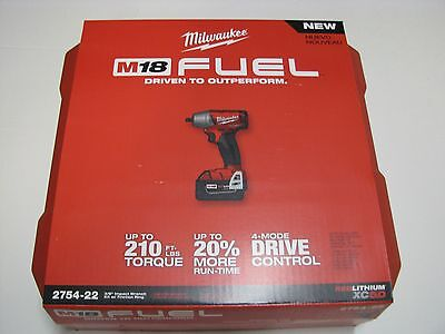 Milwaukee Tool case only for Impact wrench model 2754-20 ; 2754-22