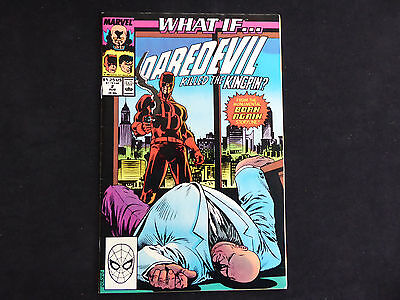 What if...? #2 Daredevil killed the Kingpin (aug 1989 Marvel)