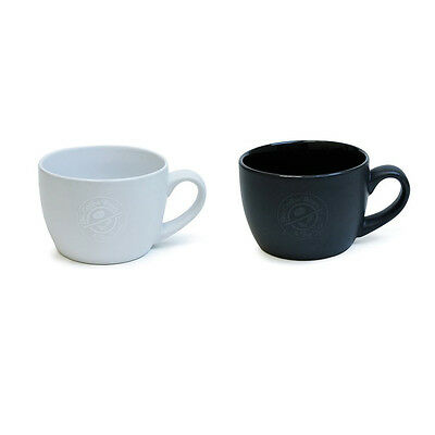 Lot of 2 New 18oz BOLANZO Mugs by Coffee Bean & Tea Leaf Matte White & Black