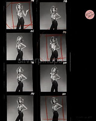 Orig 1980's HEATHER LOCKLEAR Glamour Girl.. Unpublished Images CONTACT SHEET!