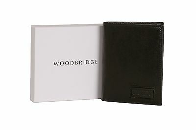 Wholesale Job Lot Of Luxury Mens 100% Real Leather Wallets Black In Gift Boxes